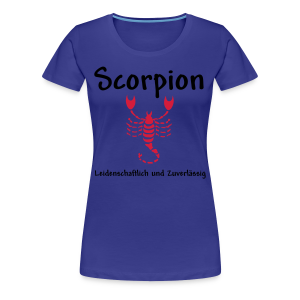 Sternzeichen Scorpion - Frauen Premium T-Shirt