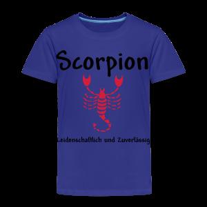 Sternzeichen Scorpion - Kinder Premium T-Shirt