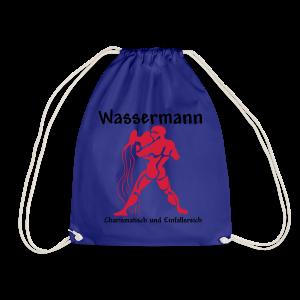 Sternzeichen Wassermann - Turnbeutel