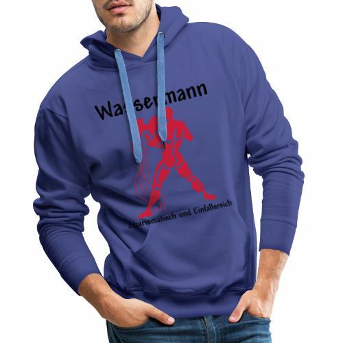 Sternzeichen Wassermann - Männer Premium Hoodie
