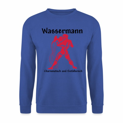 Sternzeichen Wassermann - Männer Pullover