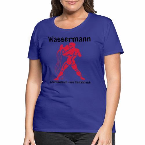 Sternzeichen Wassermann - Frauen Premium T-Shirt