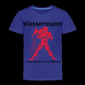 Sternzeichen Wassermann - Kinder Premium T-Shirt