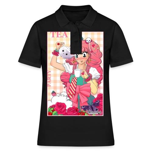 Women's T-Shirt: Tea Party - Women's Polo Shirt