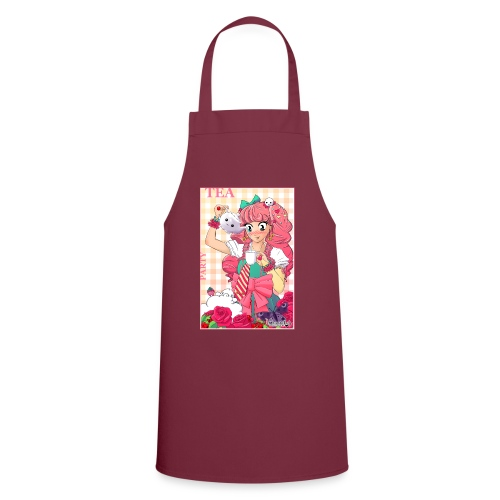 Women's T-Shirt: Tea Party - Cooking Apron