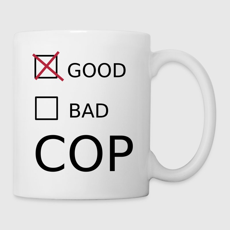 Good Cop Bottles & Mugs - Mug