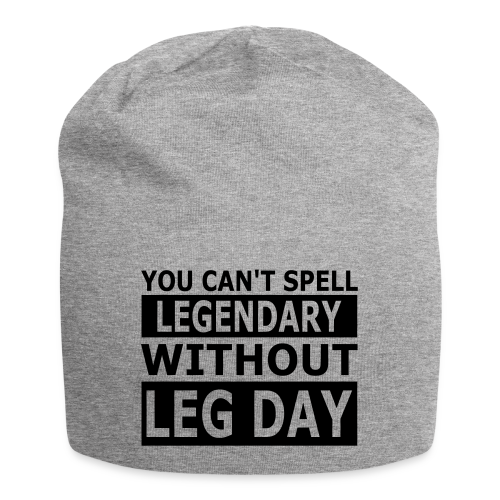 Leg Day - Jersey-Beanie