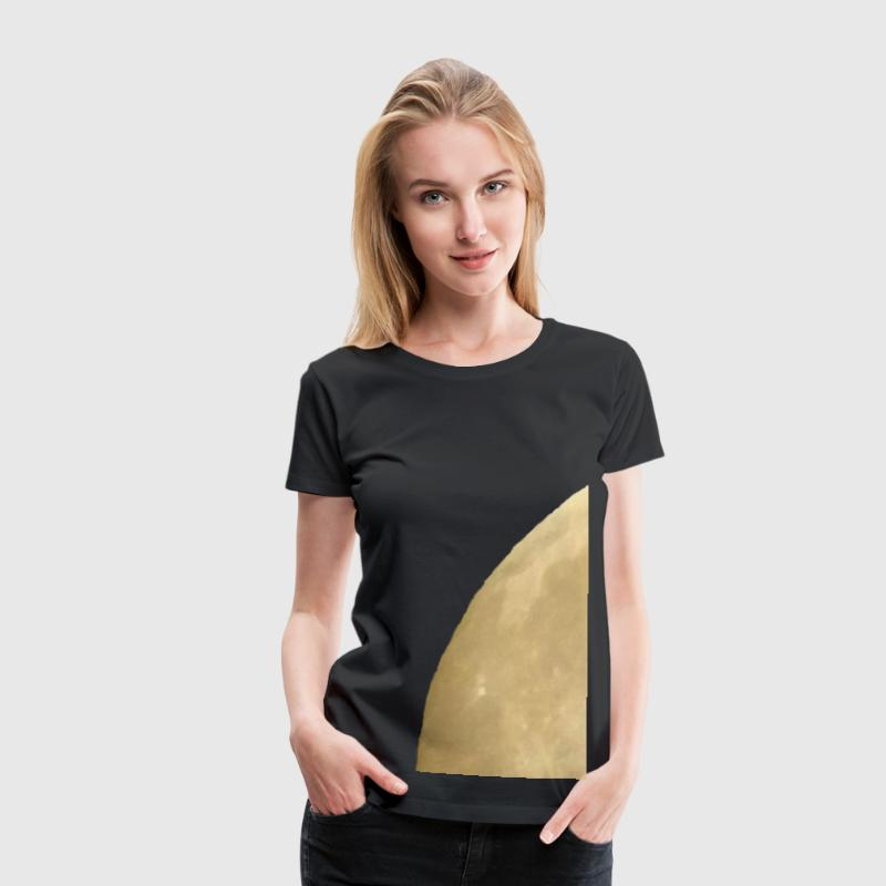 Vollmond - Frauen Premium T-Shirt