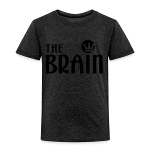 THE BRAIN - Kinder Premium T-Shirt