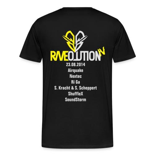 Raveolution 4 - Männer Premium T-Shirt