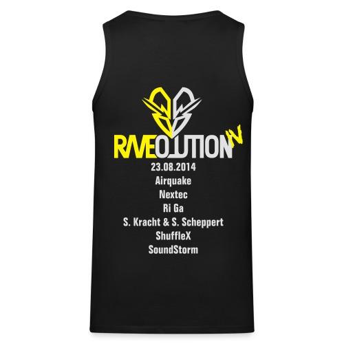 Raveolution 4 - Männer Premium Tank Top
