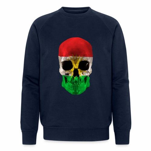 Skull Kurdistan - Männer Bio-Sweatshirt von Stanley & Stella