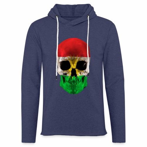 Skull Kurdistan - Leichtes Kapuzensweatshirt Unisex