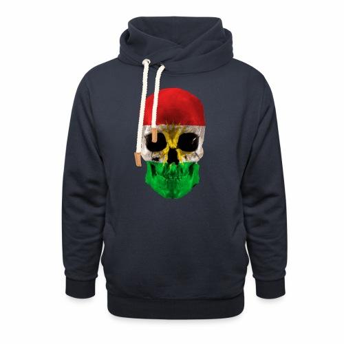 Skull Kurdistan - Schalkragen Hoodie