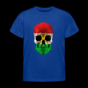 Skull Kurdistan - Kinder T-Shirt