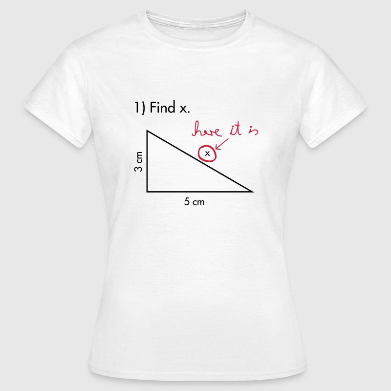 Find X  T-Shirts - Women's T-Shirt
