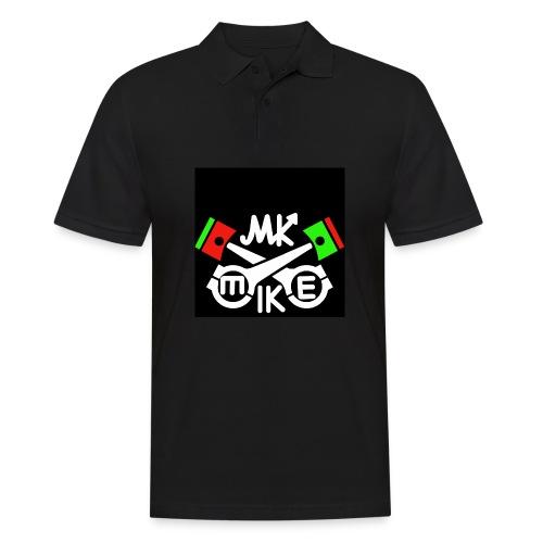 T-paita logolla - Miesten pikeepaita