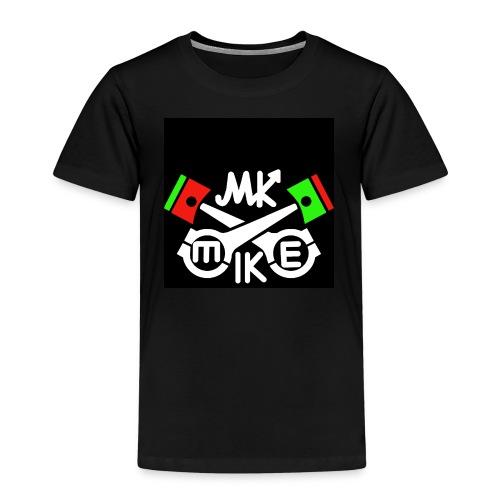 T-paita logolla - Lasten premium t-paita