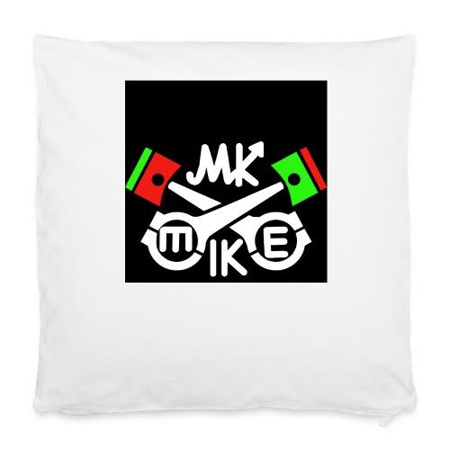 T-paita logolla - Tyynynpäällinen 40 x 40 cm