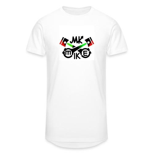 T-paita logolla - Miesten urbaani pitkäpaita