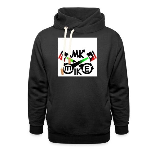 T-paita logolla - Huivikaulus huppari