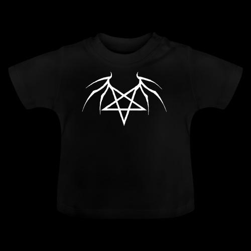 Tasse mit weißen Flügelpentagram - Baby T-Shirt