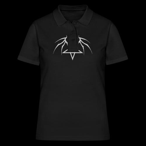 Tasse mit grauen Flügelpentagram - Frauen Polo Shirt