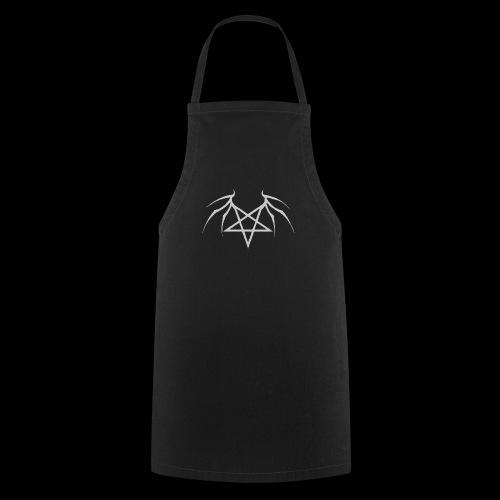 Tasse mit grauen Flügelpentagram - Kochschürze