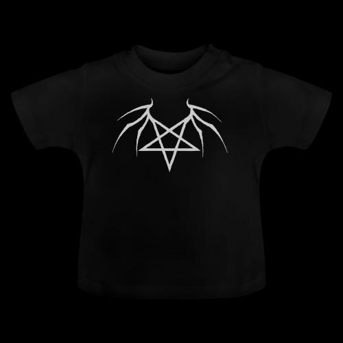 Tasse mit grauen Flügelpentagram - Baby T-Shirt