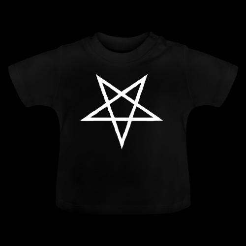 Tasse mit weißem Pentagram - Baby T-Shirt