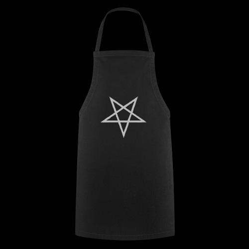 Tasse mit grauen Pentagram - Kochschürze