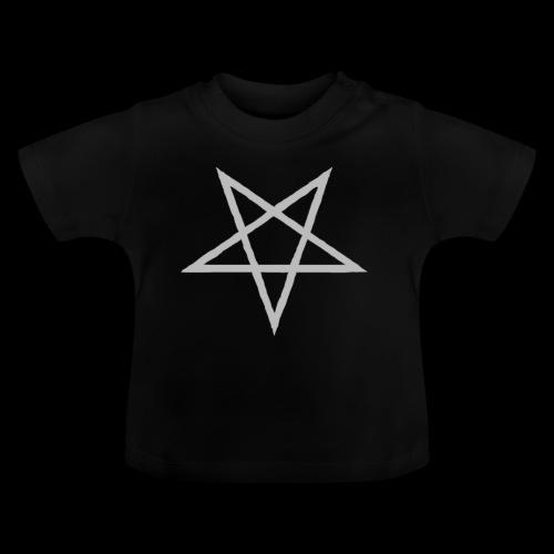 Tasse mit grauen Pentagram - Baby T-Shirt