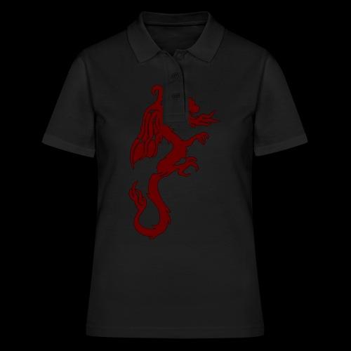 Tasse mit WF rotem Drachen - Frauen Polo Shirt