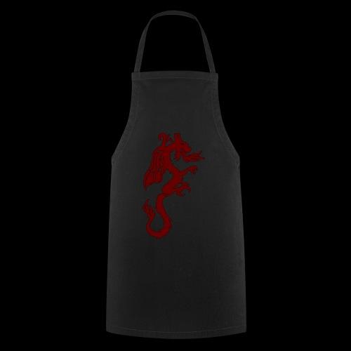Tasse mit WF rotem Drachen - Kochschürze