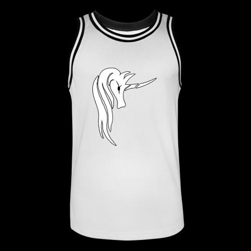 Tasse Unicorn - Männer Basketball-Trikot