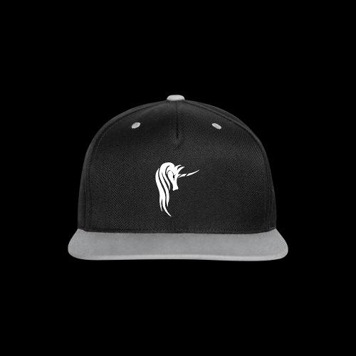 Tasse Unicorn - Kontrast Snapback Cap