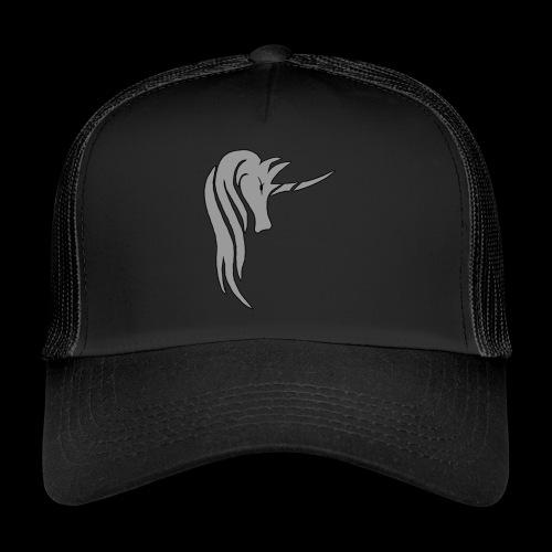 Tasse Unicorn in grau - Trucker Cap