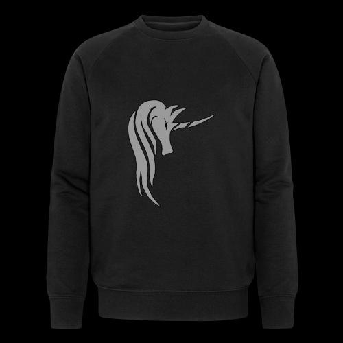 Tasse Unicorn in grau - Männer Bio-Sweatshirt von Stanley & Stella
