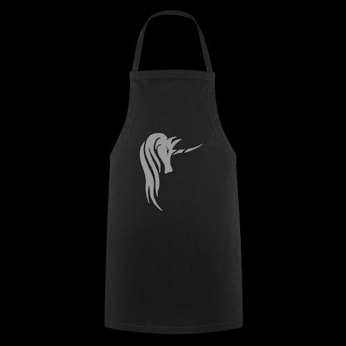 Tasse Unicorn in grau - Kochschürze
