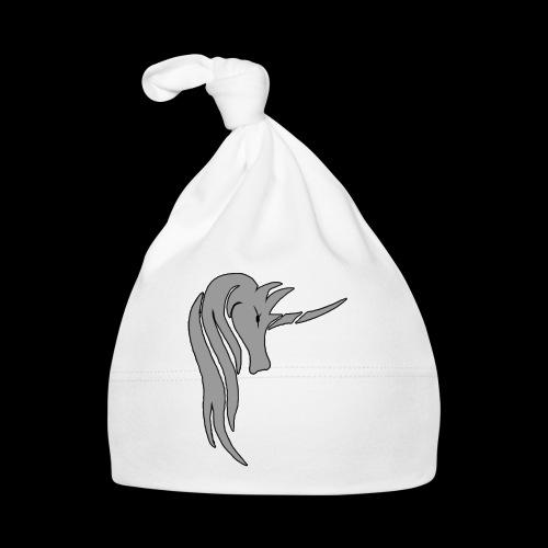 Tasse Unicorn in grau - Baby Mütze