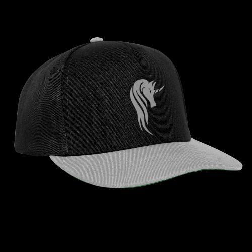Tasse Unicorn in grau - Snapback Cap