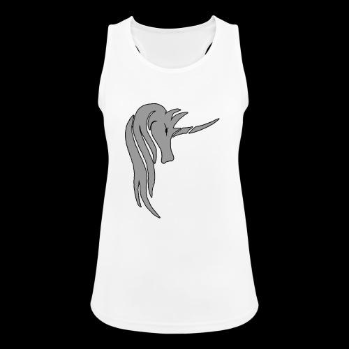 Tasse Unicorn in grau - Frauen Tank Top atmungsaktiv