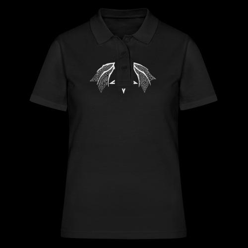 Tasse mit struktur Flügelpentagram hellgrau - Frauen Polo Shirt