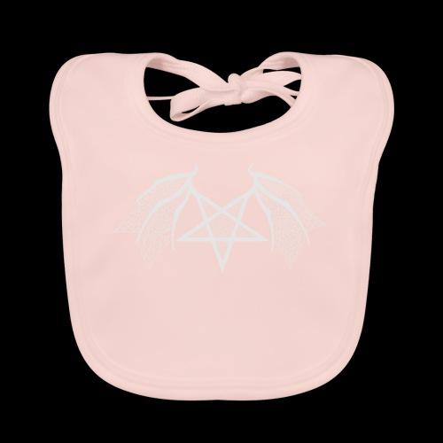 Tasse mit struktur Flügelpentagram hellgrau - Baby Bio-Lätzchen