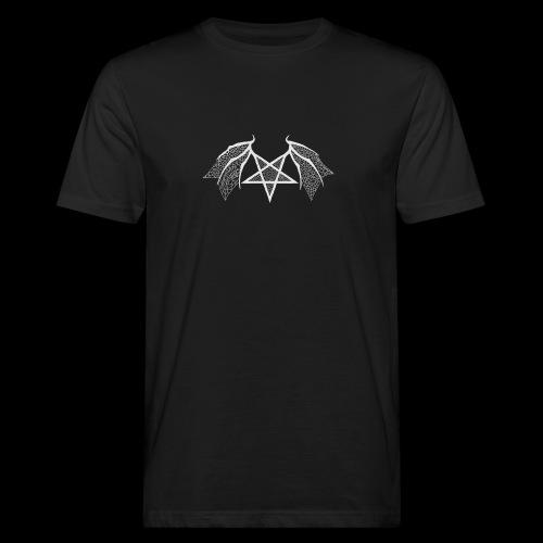 Tasse mit struktur Flügelpentagram hellgrau - Männer Bio-T-Shirt