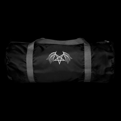 Tasse mit struktur Flügelpentagram hellgrau - Sporttasche