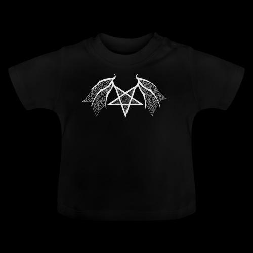 Tasse mit struktur Flügelpentagram hellgrau - Baby T-Shirt
