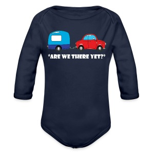 Are we there yet? - Longlseeve Baby Bodysuit