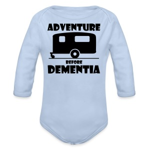 Adventure before Dementia - Longlseeve Baby Bodysuit