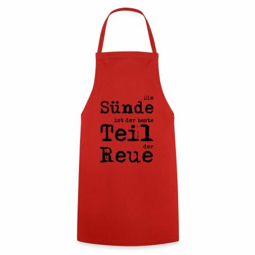 Die Sünde - Kochschürze